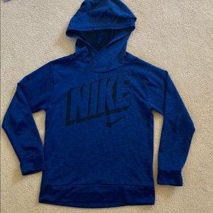 Light weight boys Nike hooded pullover – size xs